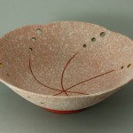 2009 吹泥金桜彩鉢