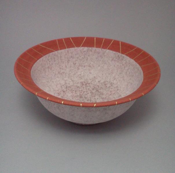 2012 吹泥金紅彩鉢